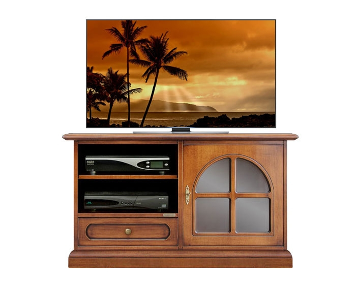 TV-Möbel Glastür klassisch