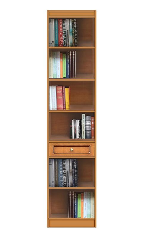 Bücherregal raumsparend aus Holz