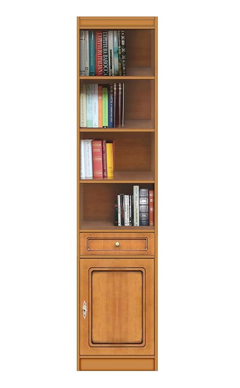 Bibliothèque modulaire haute 1 porte 1 tiroir