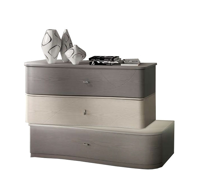 Commode moderne 3 tiroirs - Collection Gioia
