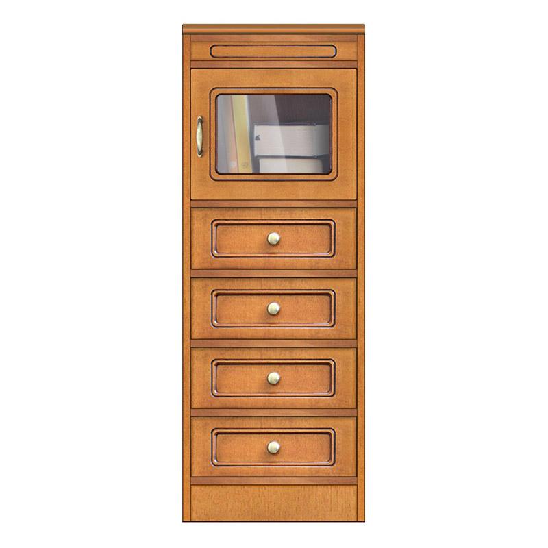 Collection Compos - Meuble petite taille 1 porte 4 tiroirs