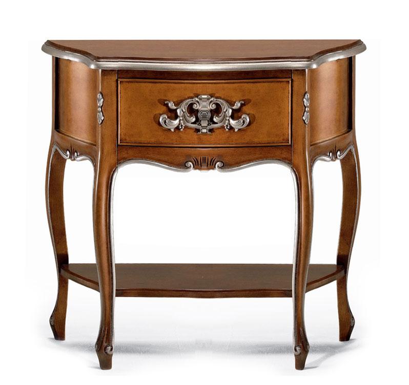 Klassischer Nachttisch geschnitzt aus Holz