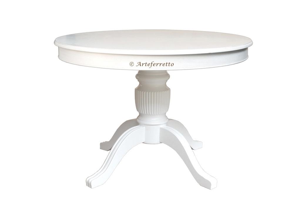 Table à manger ronde Stub 100 cm prolongeable