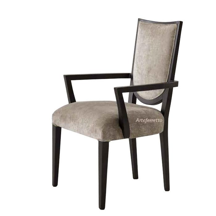 Moderner Stuhl mit Armlehnen Trendy