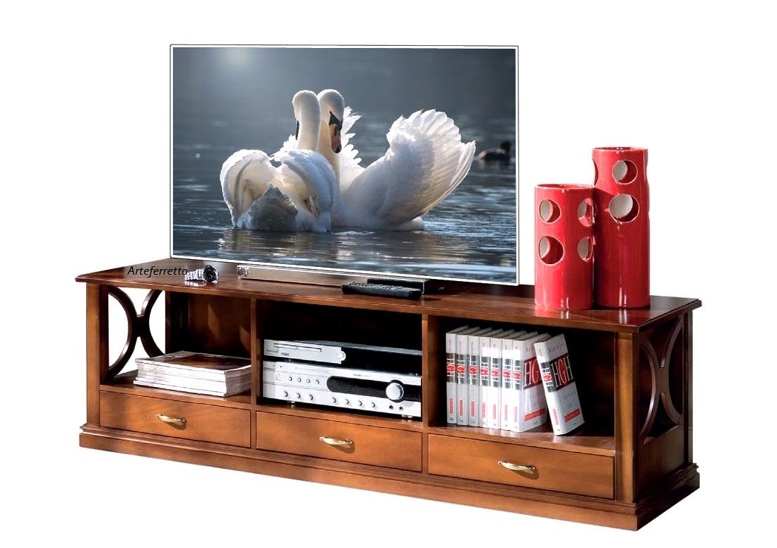Meuble Tv bas en bois Arco