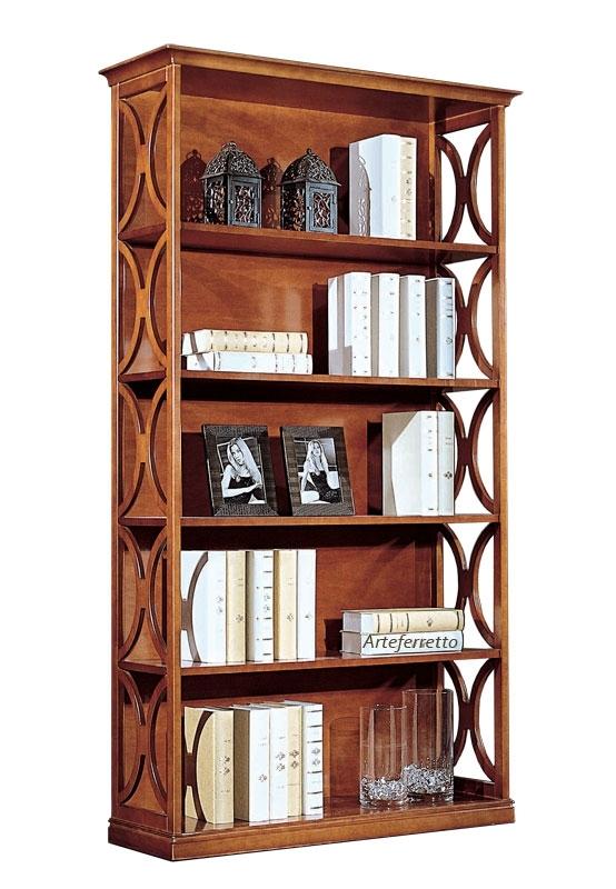 Meuble bibliothèque haut côtés ouverts Arco