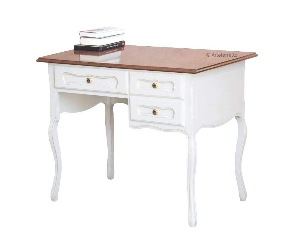 2 Farben Schreibtisch mit Schubladen