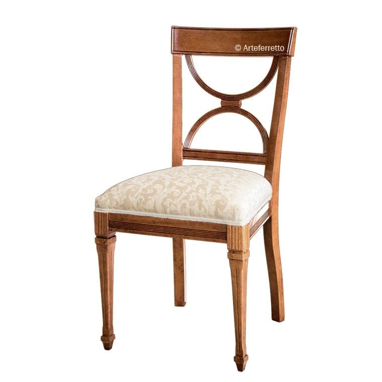Chaise rembourrée Demi-cercle