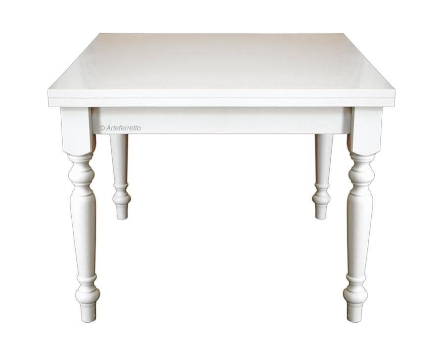 Table à manger pliante 100x100 cm