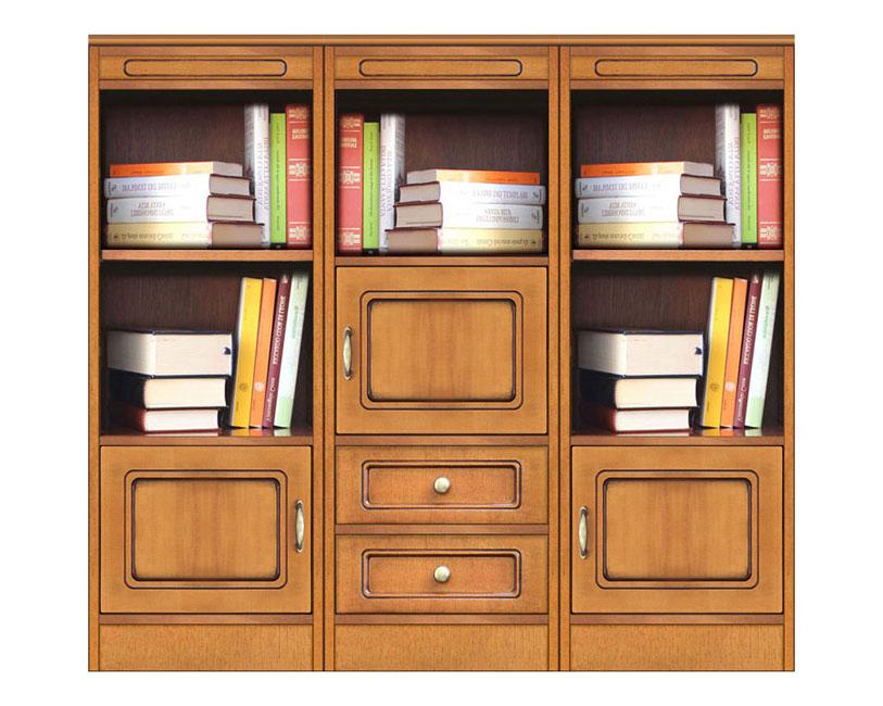 Meuble bibliothèque modulaire Compos-3D