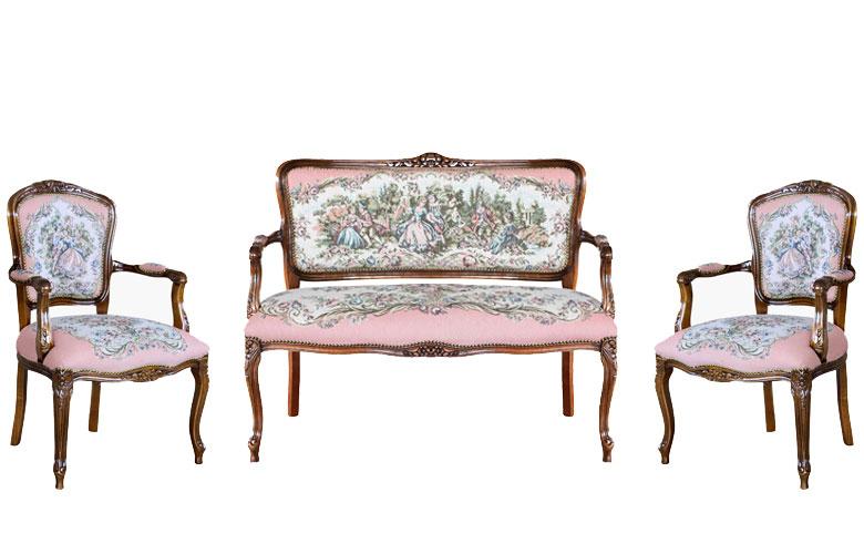Sitzgruppe klassisch Romeo und Julia