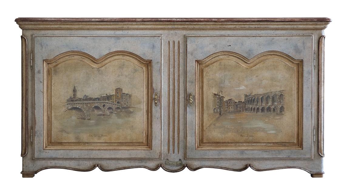 Künstlerische Anrichte Old Verona