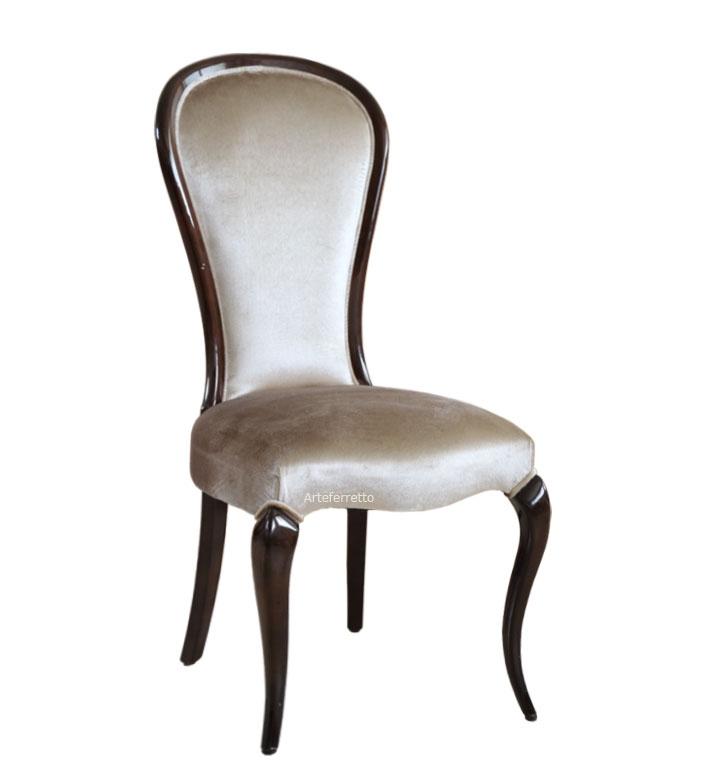 Stuhl klassisch-modern Stil Silhouette