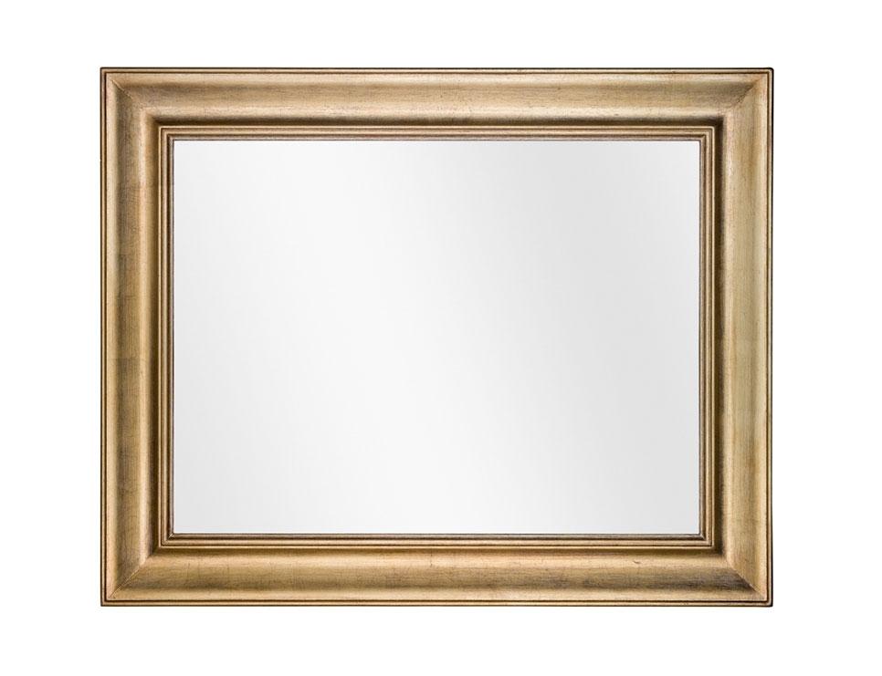 Miroir mural rectangulaire Golden Wood