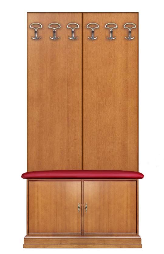 Meuble vestiaire pour hall d'entrée