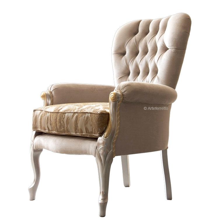 Sessel mit Sitzkissen Coco