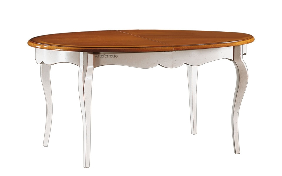 Table ovale prolongeable