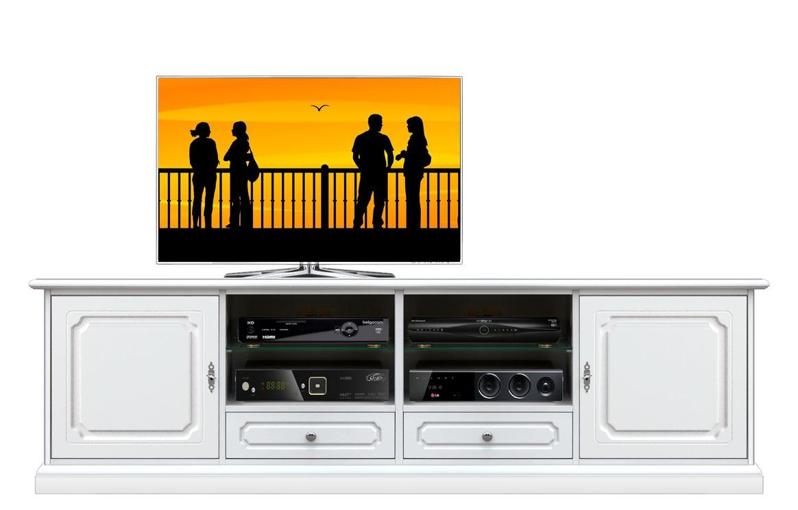 TV-Möbel 2 meter breit klassisch aus Holz