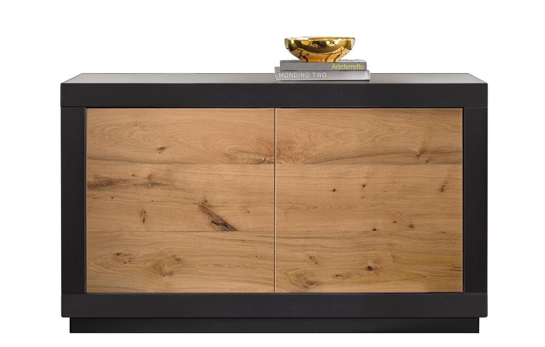 Sideboard mit Holztüren Design