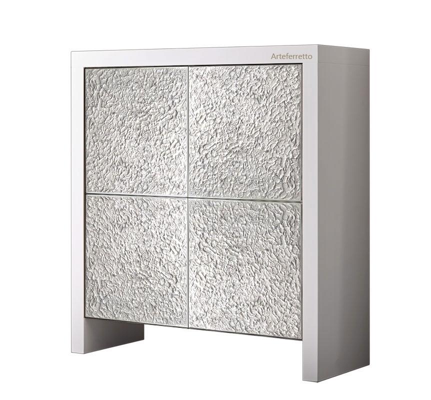 Highboard Silbertüren 4Silver