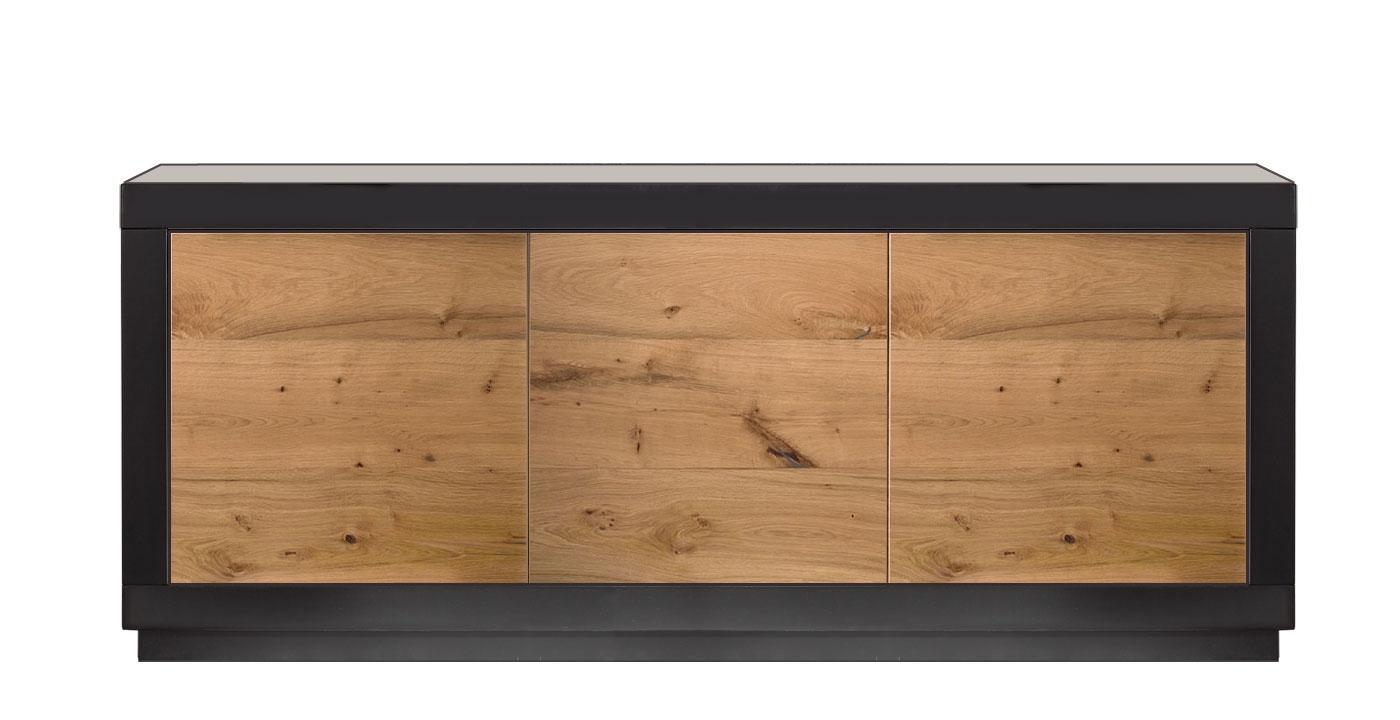 Holzsideboard Design 3 Türen