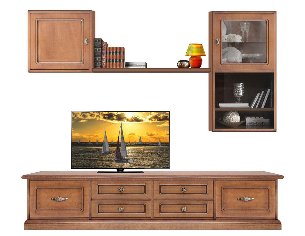 Composition murale TV