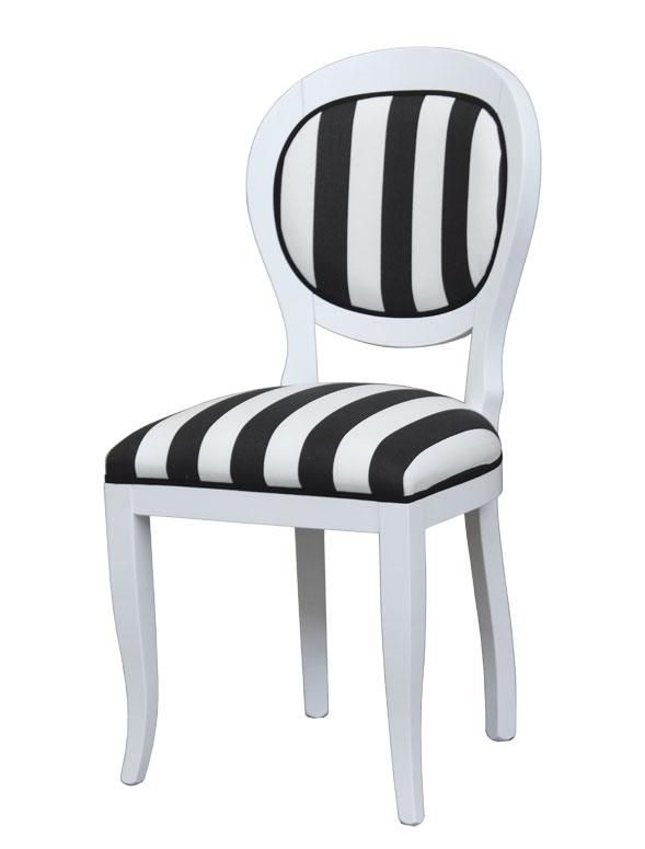 Chaise design Black&White