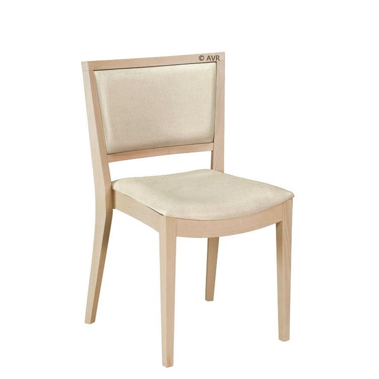 Designer Stuhl aus naturellen Holz Convass