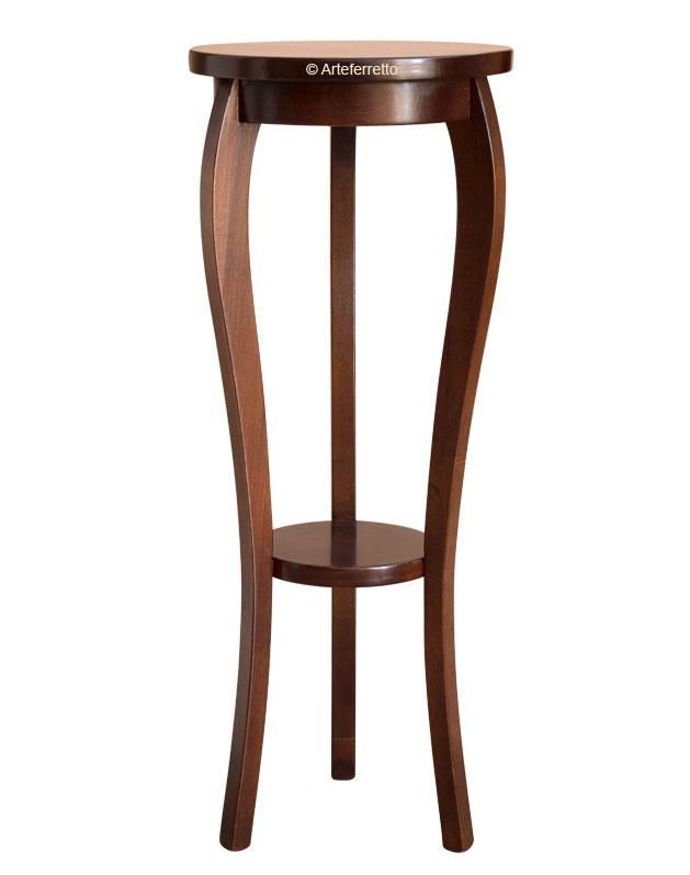 Holzständer für Vasen und Pflanzen