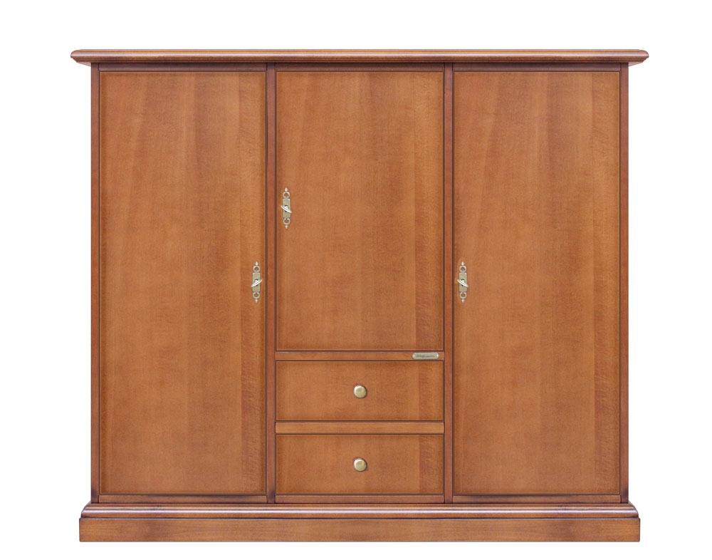 Kleiner Schrank mit Türen und Schubladen