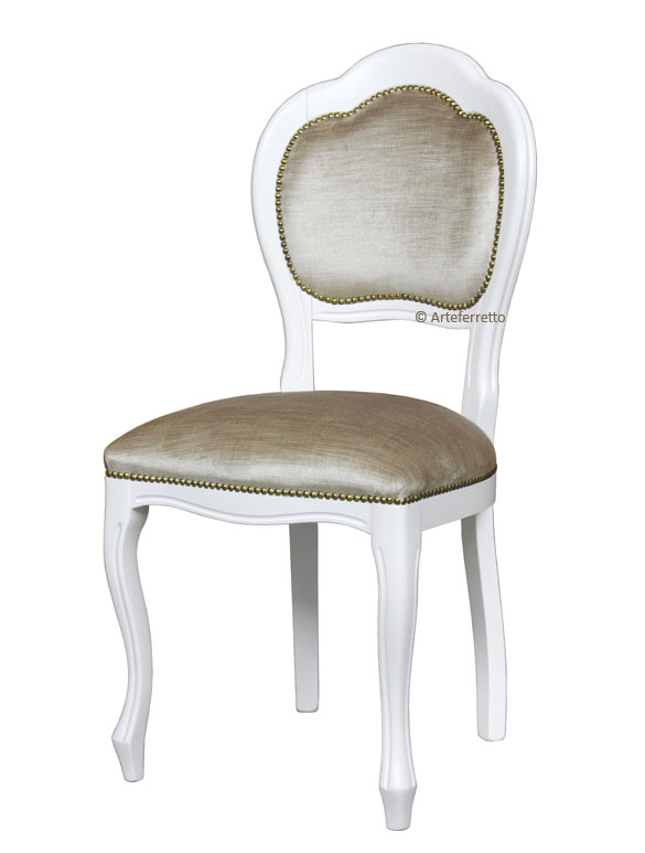 Lackierter Stuhl Arco Plus