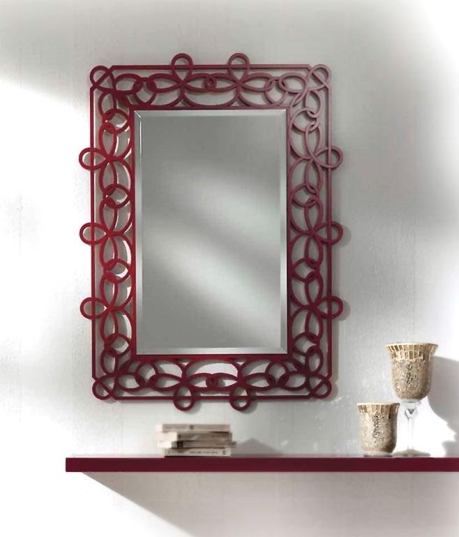 Spiegel und Brett für den Flur