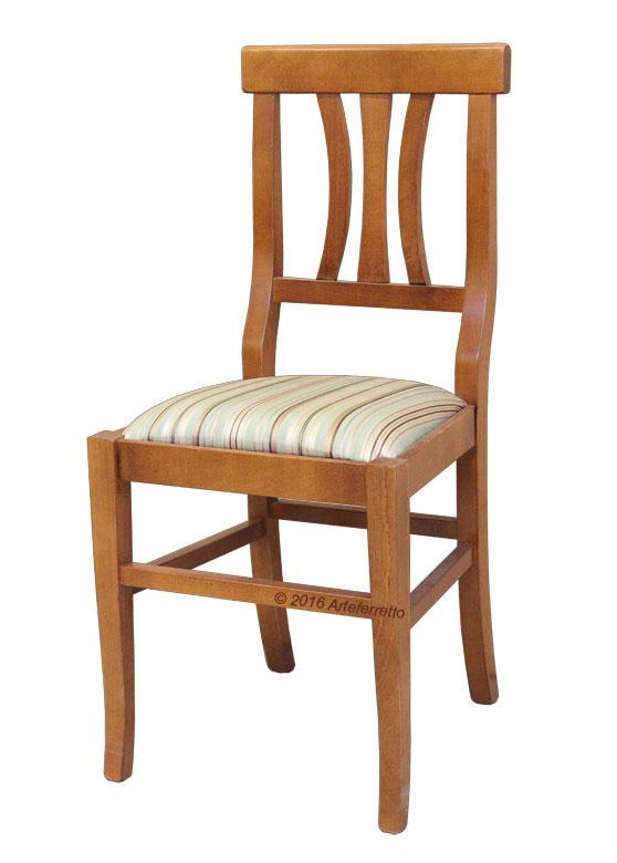 Chaise de cuisine siège rembourrée
