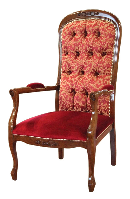 Sessel Voltaire mit Rücklehne