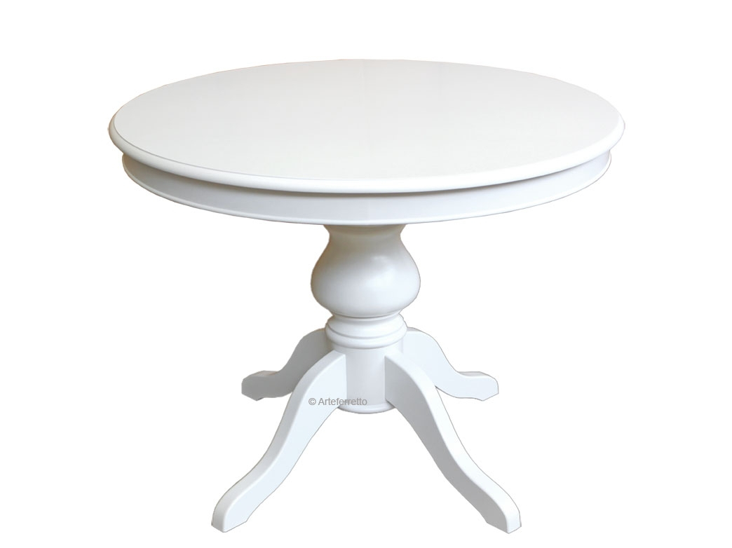 Table extensible ronde - diamètre 100 cm