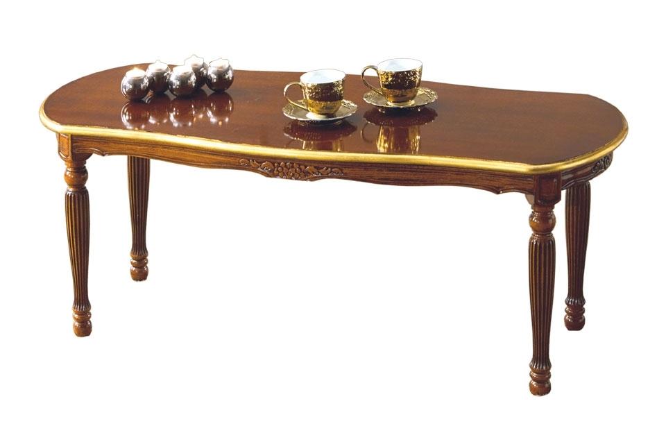 Table basse ovale de salon