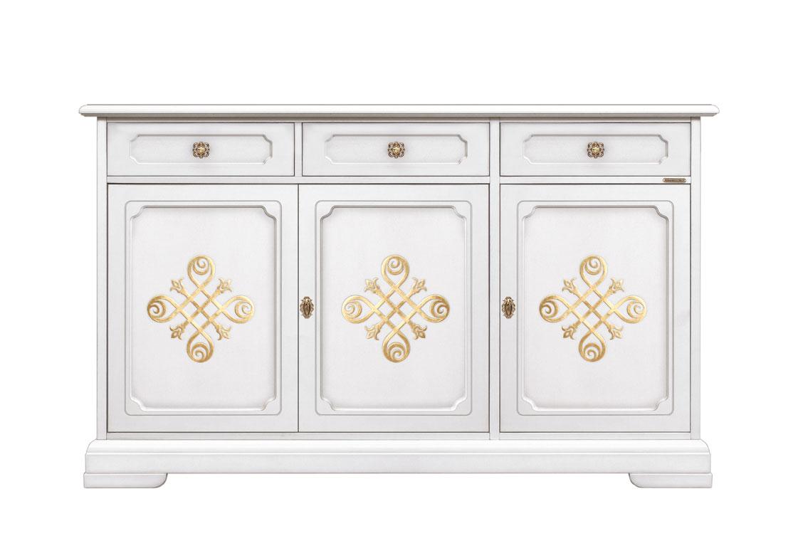 Buffet 3 portes 3 tiroirs You gold