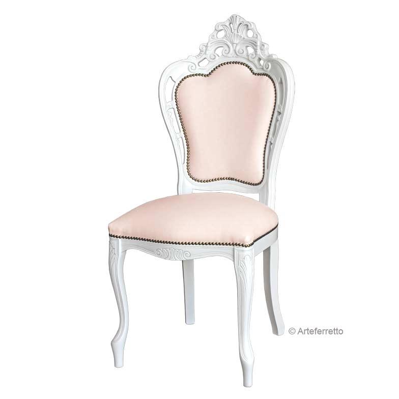 Stuhl weiß Magic White