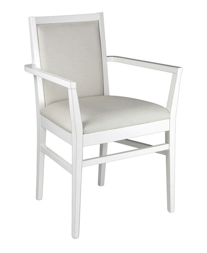 Chaise bout de table style contemporain
