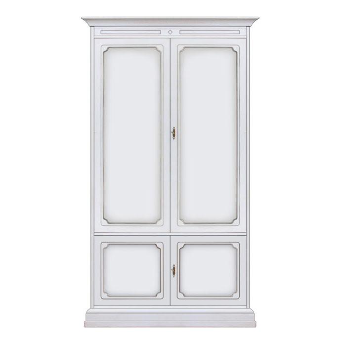 Schrank 2 Türen klassisch Höhe 2 meter Wklass