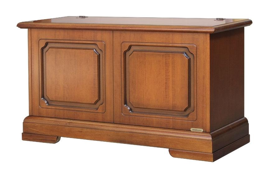 Truhenbank Holz mit Klappe 100 cm Hercules