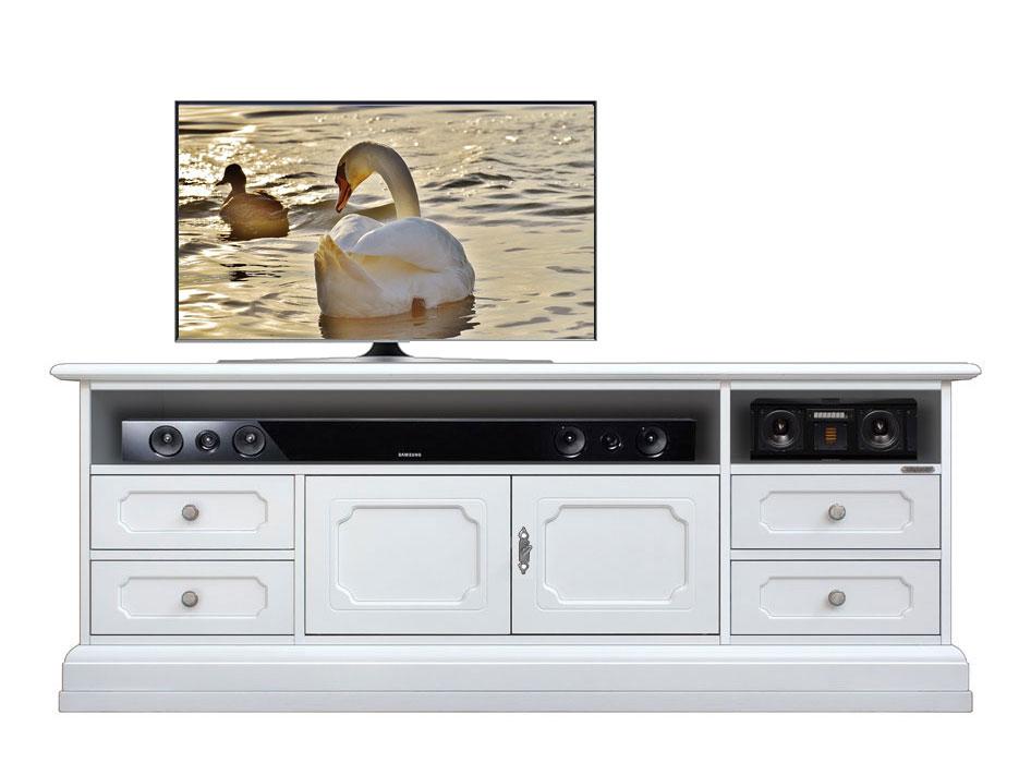 Meuble Tv largeur 160 cm pour barre de son
