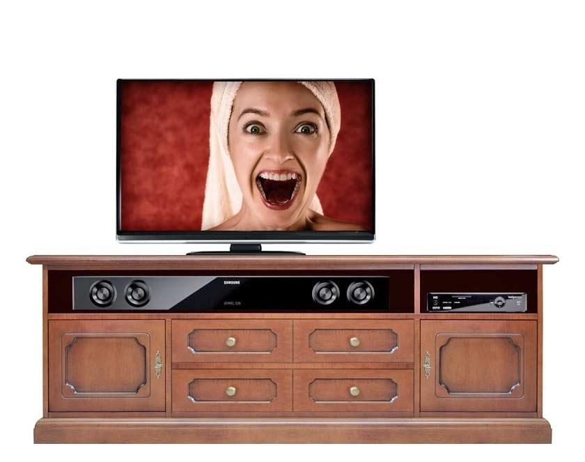 Meuble Tv parfait pour la barre de son