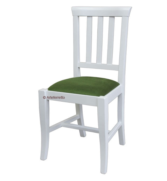 Klassischer Stuhl mit Polstersitz