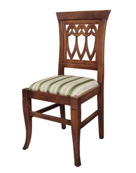 Chaise en bois massif Hélène