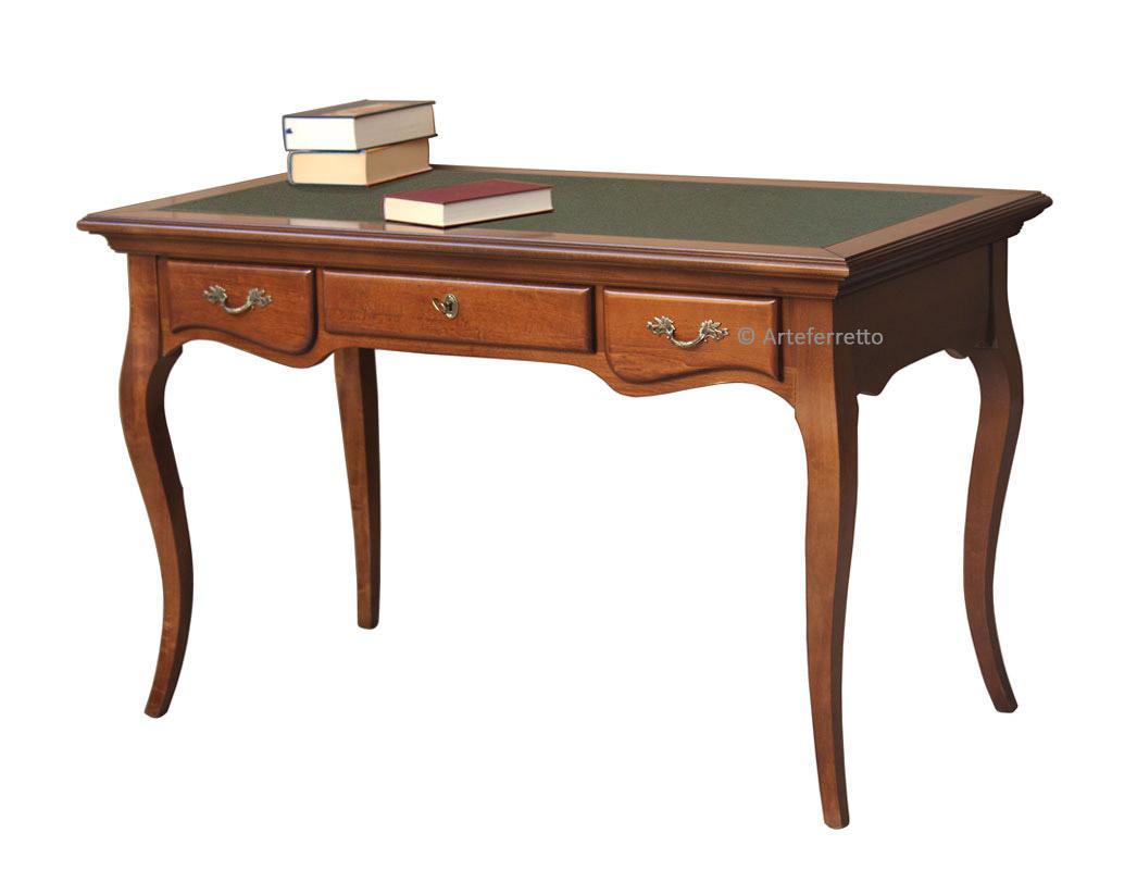 Bureau classique stylisé 3 tiroirs