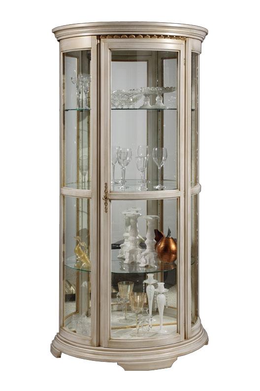 Vitrine Halbmond Cristal elegant