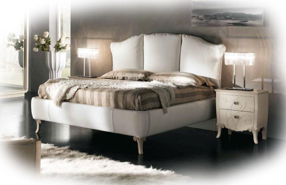 Doppelbett mit Polsterung 2 Schlafplätze