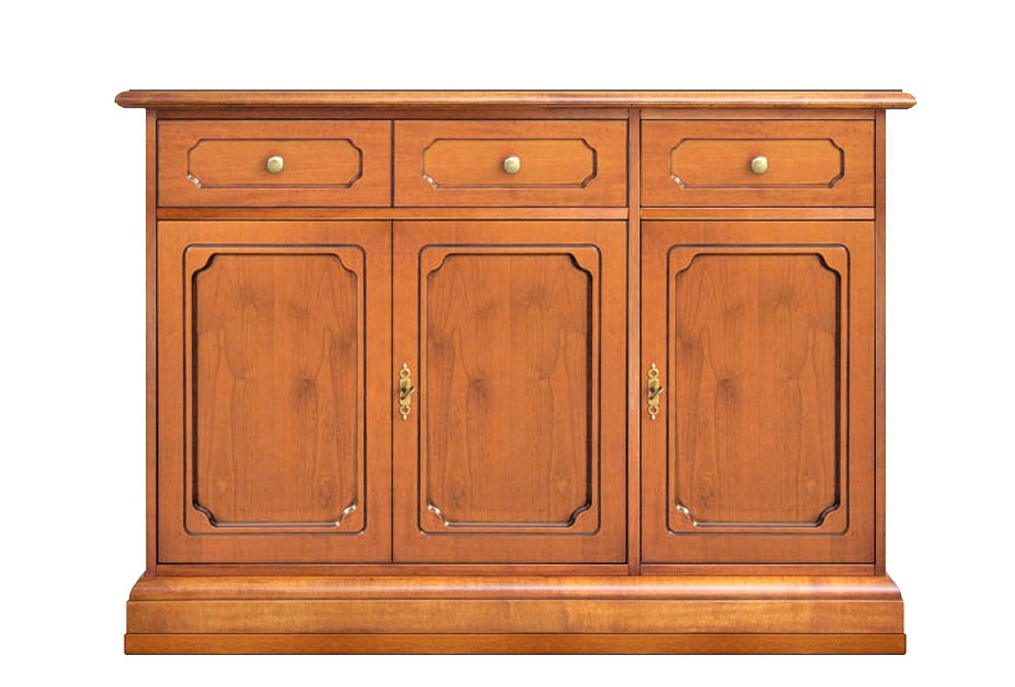 Buffet 3 portes 2 tiroirs