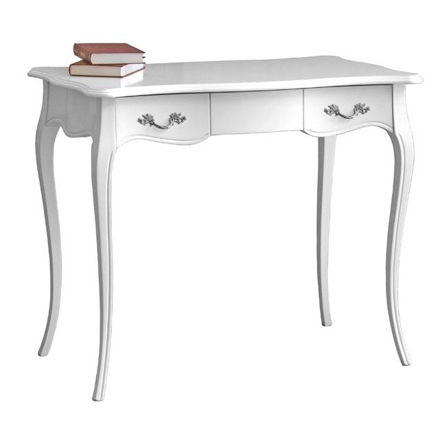Schreibtisch weiß Landhaus Cavallino